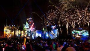 Star Wars Themed Fireworks
